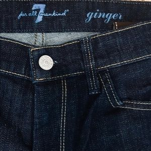 "➳ 7 FOR ALL MANKIND ""Ginger"" Jeans"